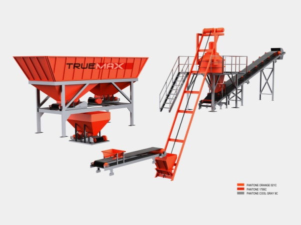 Pigment Batching & Mixing Plant